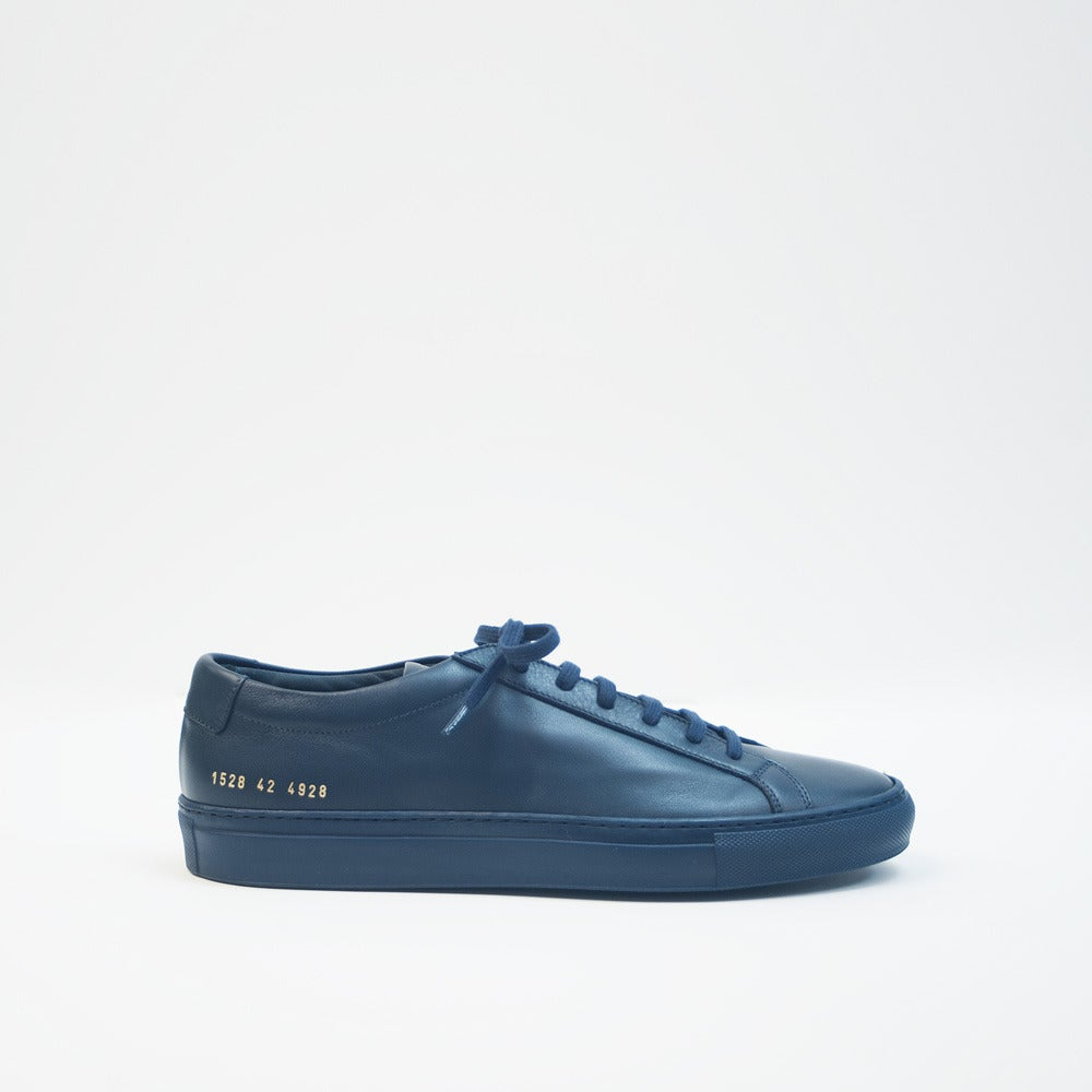 Image of Common Projects Achilles Low - NAVY