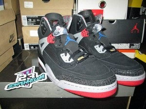 Image of Air Jordan Spiz'ike &quot;Black Cement&quot;