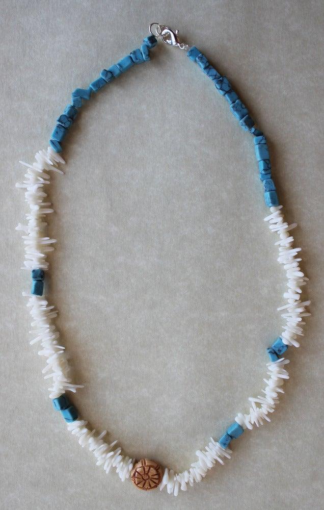 Image of Coastline Shark Tooth Unisex Necklace