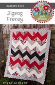 Image of #104 Zigzag Frenzy - PDF Pattern