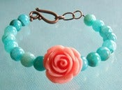 Image of Springtime Rose Bracelet