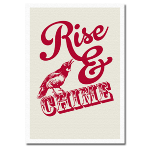 Image of Rise & Chime - Canvas Print