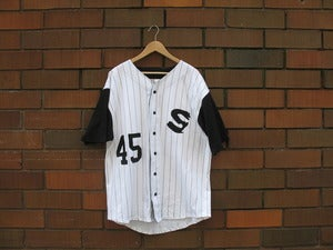 "Image of ""Savage Sox"" Baseball Jersey"
