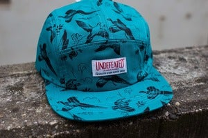 Image of Undefeated - Duck Camp Cap (teal)