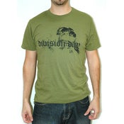 Image of Division Day - Guy's Olive Bird Tee