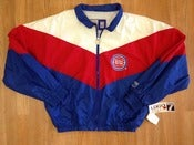Image of Vintage Deadstock Detroit Pistons &quot;Bad Boys&quot; Era Logo 7 Windbreaker