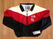 Image of Vintage Deadstock Miami Heat Logo 7 Windbreaker Jacket