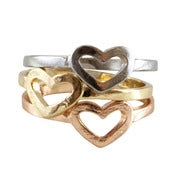Image of Heart Knuckle Ring