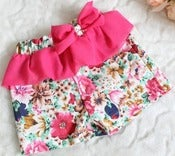 Image of Floral Ruffle Shorts