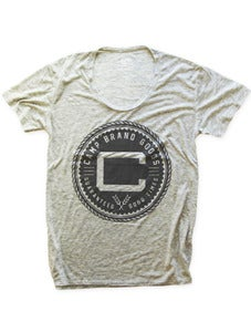 Image of OLDS CREST LOOSE T | OAT HEATHER