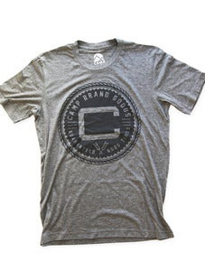 Image of OLDS CREST TSHIRT | TRI-GREY