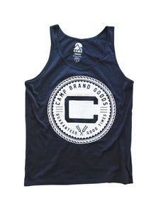 Image of OLDS CREST TANK | NAVY