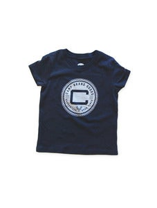 Image of OLDS CREST TODDLER T | NAVY
