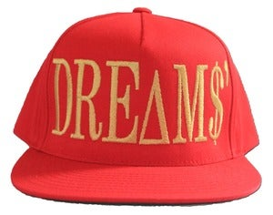 Image of Big DREAMS Red Snapback