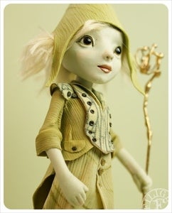 Image of SOLD ~ Kai ~ Nordic elf by the Filigree