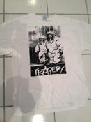 Image of Used Tragedy Shirt (2 sided) - Size L