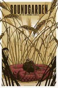 Image of Soundgarden at The Tabernacle 5/7/13 in Atlanta Poster