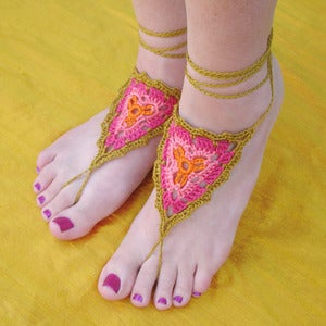 Image of CUSTOM Gypsy Barefoot Sandals