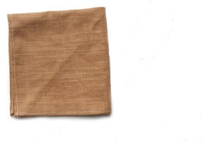Image of Faux Burlap Pocket Square
