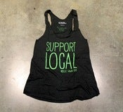 Image of WOMEN'S SUPPORT LOCAL RACERBACK TANK (more colors)