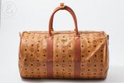 Image of MCM duffle Bag Cognac monogram :: Vintage Bags/Travel