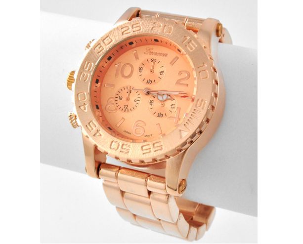 Image of Chunky Rose Gold Watch