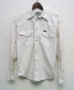 Image of Wrangler denim shirt (S)