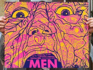 Image of The Men - Screenprinted Poster