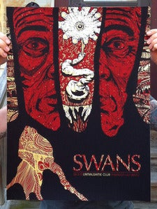 Image of Swans (Switzerland) - Screenprinted Poster