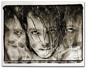 Image of Robert Smith Triple image canvas