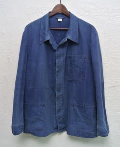 Image of Vintage french workers jacket (L)