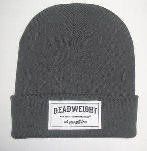 Image of Charcoal Patch Beanie