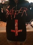 Image of SAFFER - Death to false photography zip-hoodie - limited edition