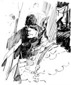 Image of Captain America Sketch