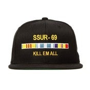 Image of SSUR - KILL EM ALL SNAPBACK