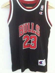 Image of Vintage Champion Jordan Jersey - Black