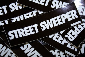 Image of Street Sweeper Bomber Sticker