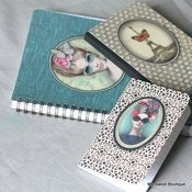 Image of Carnets  ou cahier &quot;Les Cakes de Bertrand&quot; - diffrents modles