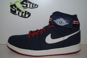 Image of Air Jordan I High Strap Midnight Navy/Varsity Red