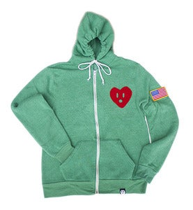 Image of CdNMC Freedom Rebels Zip (Green)