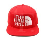 "TFHH ""Firm Face"" 5 Panel Snapback (red)"