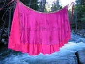 Image of Save $15 Right Now! Multiwear Recycled Silk Sari Skirt Summer 2013