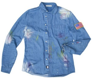 Image of Worker's Denim Shirt