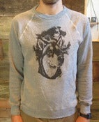 Image of WORN PATH WOLFDOG SOLID CREWNECK SWEATSHIRT