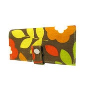 Image of Floral Pop ) Pocketbook Slash Checkbook Holder
