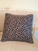 Image of Leopard Print Pillow Cover