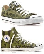 Image of Converse - Chuck Taylor Washed Camo Olive Branch - Unisex Shoe -