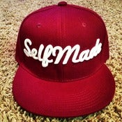 Image of Maroon SELFMADE Snapback 