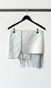 Image of BATTALION skirt (white)