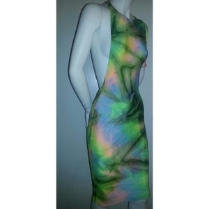 "Image of ""Taste the Rainbow"" Cold Shoulder Dress"